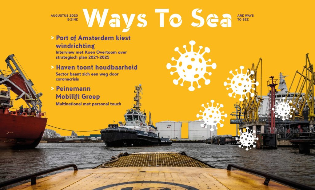 Online magazine Ways to Sea #1  is uit