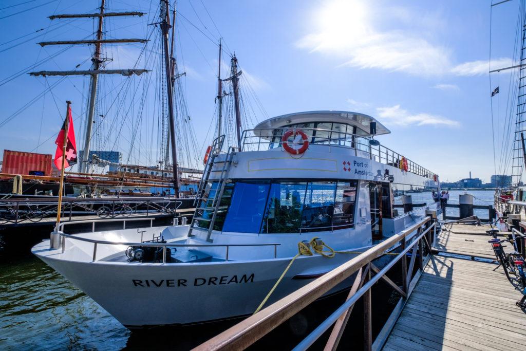 Schip River Dream Havenrondvaart Amsterdam